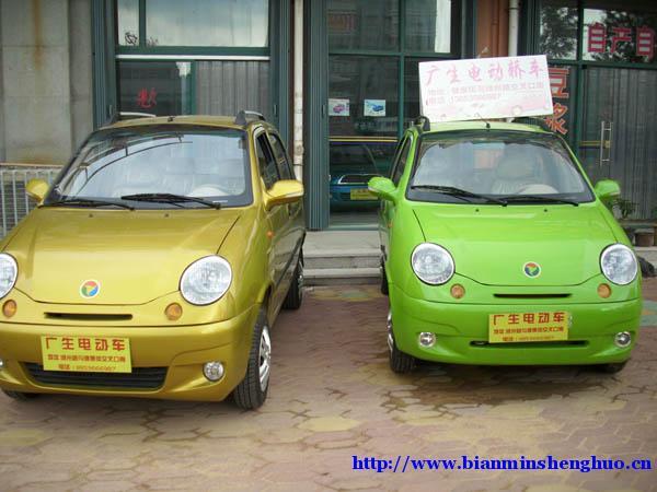 潍坊广生电动车专卖店销售最新型电动汽车